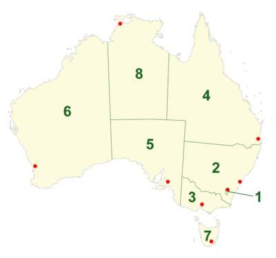 Административно-территориальное деление Австралии