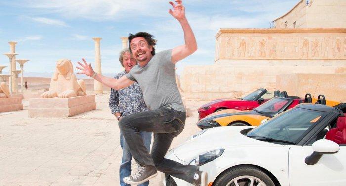 Трейлер автосалона Grand Tour: динамика, взрывы и супер-автомобили