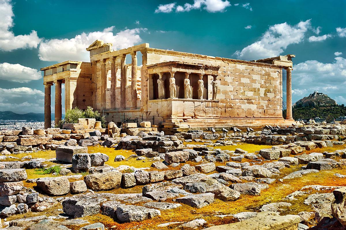 Архитектурные чудеса Греции