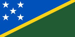 Флаг Соломоновы Острова