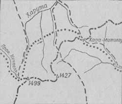 Картосхема района горы Пай-Ер