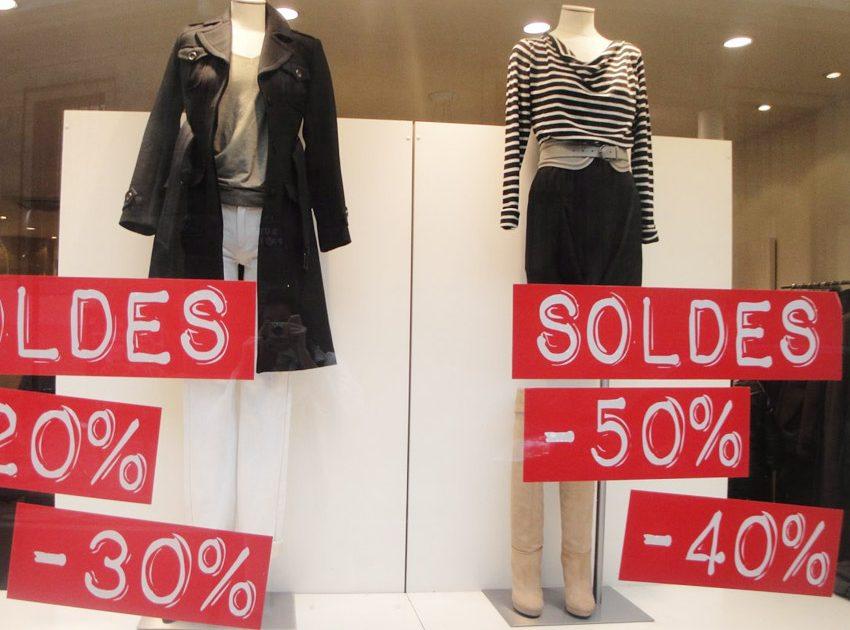 В Париже стартовал сезон летней распродажи